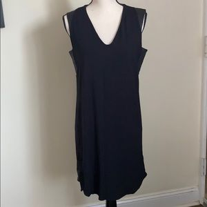NWT STANDARD JAMES PERSE Black Sleeveless Dress 1